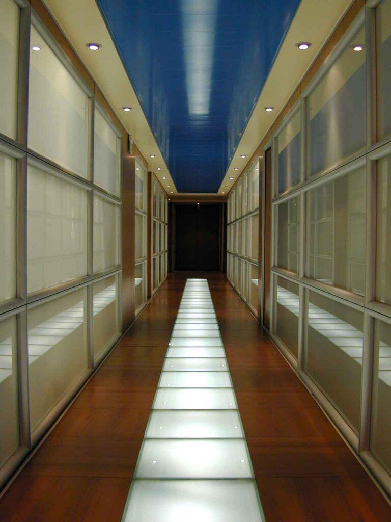 Rho progetto elettronica 92 uffici corridoio