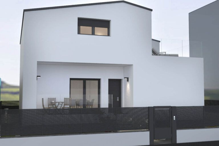 progettazione villa senago esterno 01