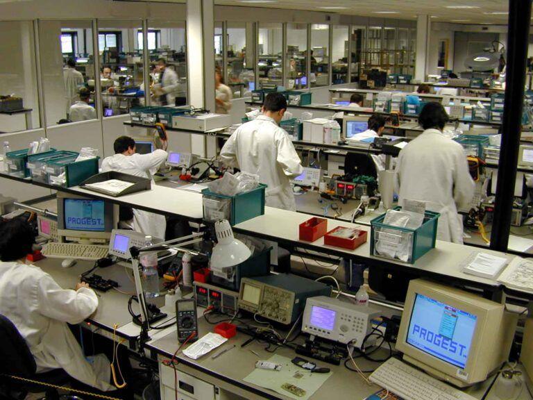 progetto elettronica 92 uffici