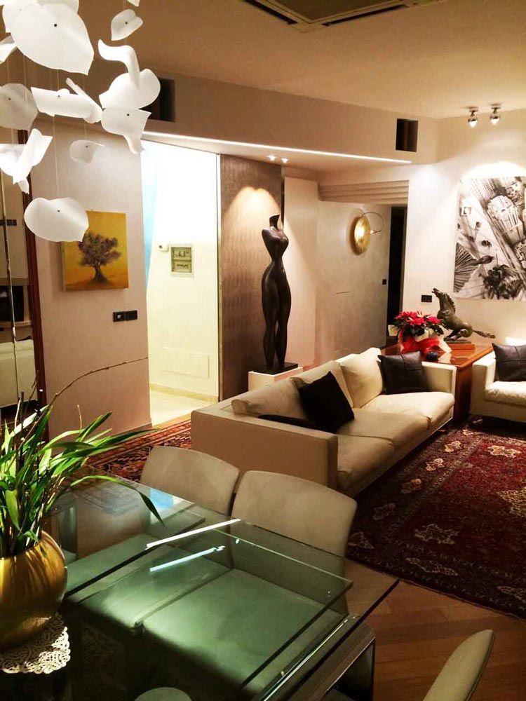 soggiorno appartamento milano